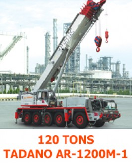 All Terrain Crane | T S K  CRANE SERVICE CO ,LTD