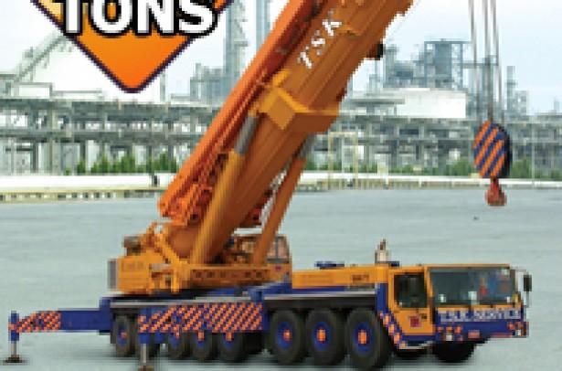 500 Tons LIEBHERR LTM-1500