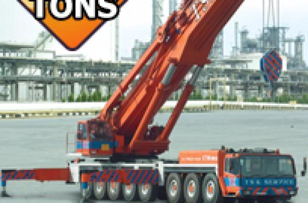 400 Tons LIEBHERR LTM-1400